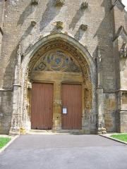 Eglise - Français:   Eglise Saint-Marcel de Saint-Marcel, Ardennes (France)