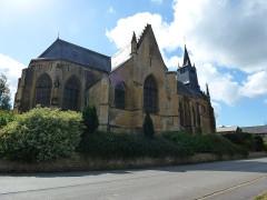 Eglise - English:   Saint-Marcel (Ardennes) église, nord-est