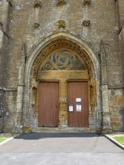 Eglise - English:   Saint-Marcel (Ardennes) église, portail