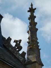 Eglise - English:   Saint-Marcel (Ardennes) église, pignon de la façade, detail A (verso)