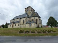 Eglise Saint-Crépin Saint-Crépinien - English: Saulces-Champenoises (Ardennes) église