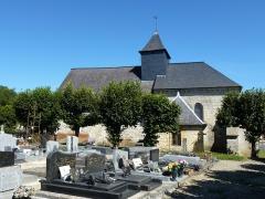 Chapelle de la Vieille Ville - English: Saulces-Monclin (Ardennes) chapelle au cimetière