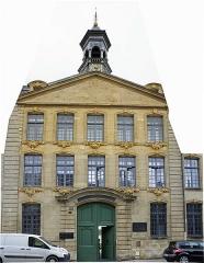 Ancienne manufacture royale de draps dite le Dijonval - Français:   Façade rue du général Margueritte de la manufacture royale du Dijonval.