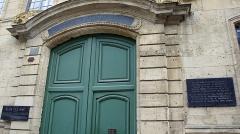 Ancienne manufacture royale de draps dite le Dijonval - Français:   Entrée et Façade_au 6_de la rue_Margueritte.