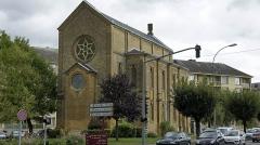Synagogue - Français:   Vue de la Synagogue à Sedan.