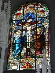 Eglise - English: Église Saint-Nicolas de Signy-le-Petit, vitrail 02