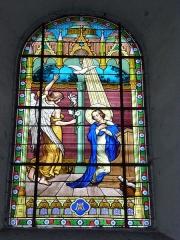 Eglise - English: Église Saint-Nicolas de Signy-le-Petit, vitrail 05