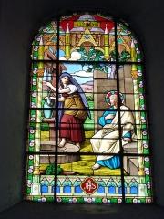 Eglise - English: Église Saint-Nicolas de Signy-le-Petit, vitrail 04