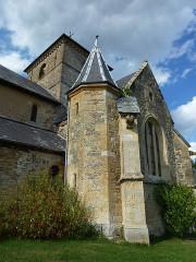 Eglise - English: Sorcy-Bauthémont (Ardennes) église Notre-Dame, tourelle