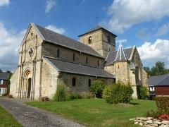 Eglise - English: Sorcy-Bauthémont (Ardennes) église Notre-Dame, vue d'angle