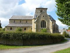 Eglise - English: Sorcy-Bauthémont (Ardennes) église Notre-Dame, vue latérale