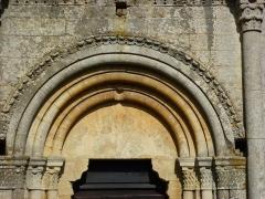 Eglise - English: Sorcy-Bauthémont (Ardennes) église Notre-Dame, arc du portail