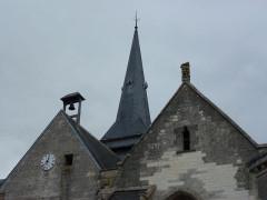 Eglise - English: Thugny-Trugny (Ardennes) église Saint-Loup pignons