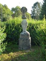 Trois croix de chemin - English: Tourteron (Ardennes) croix de chemin sortie la Sabotterie, MH