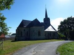 Eglise - English: Tourteron (Ardennes) église Saint-Brice vue du nord