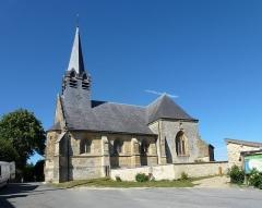 Eglise - Français:   Tourteron (Ardennes) église Saint-Brice vue du sud. Construction: 13e siècle; 15e siècle.