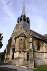 Eglise - This building is indexed in the Base Mérimée, a database of architectural heritage maintained by the French Ministry of Culture,under the reference PA00078535 .