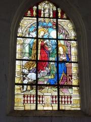 Eglise - English: Viel-Saint-Rémy (Ardennes) Église Saint-Rémi , vitrail 08