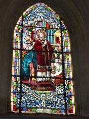 Eglise - English: Viel-Saint-Rémy (Ardennes) Église Saint-Rémi , vitrail 03