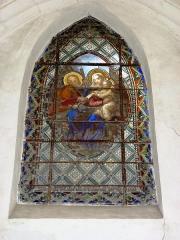 Eglise - English: Viel-Saint-Rémy (Ardennes) Église Saint-Rémi , vitrail 01