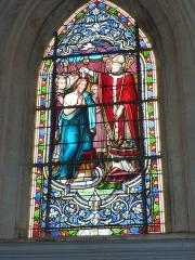 Eglise - English: Viel-Saint-Rémy (Ardennes) Église Saint-Rémi , vitrail 05