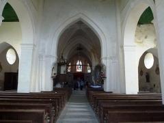 Eglise - English: Viel-Saint-Rémy (Ardennes) Église Saint-Rémi intérieur
