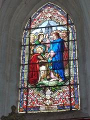 Eglise - English: Viel-Saint-Rémy (Ardennes) Église Saint-Rémi , vitrail 04