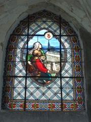 Eglise - English: Viel-Saint-Rémy (Ardennes) Église Saint-Rémi , vitrail 07