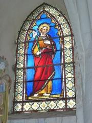 Eglise - English: Viel-Saint-Rémy (Ardennes) Église Saint-Rémi , vitrail 02