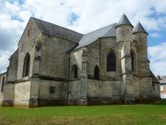 Eglise - English: Viel-Saint-Rémy (Ardennes) Église Saint-Rémi extérieur