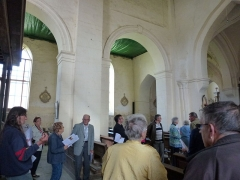 Eglise - English: Viel-Saint-Rémy (Ardennes) église Saint-Remi, journée église accueillante 2012-08-26