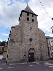 Eglise - English: Warcq (Ardennes) église, façade