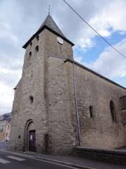 Eglise - English: Warcq (Ardennes) église, de droite