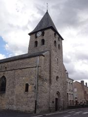 Eglise - English: Warcq (Ardennes) église, de gauche