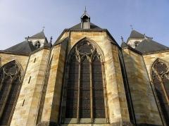 Cathédrale Saint-Etienne -  Chevet de la cathédrale Saint-Étienne de Châlons-en-Champagne (51).