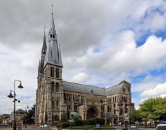 Eglise Notre-Dame-en-Vaux et son cloître - Nederlands: Châlons-en-Champagne (departement Marne, Frankrijk): kapittelkerk Notre-Dame-en-Vaux