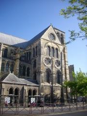 Eglise Notre-Dame-en-Vaux et son cloître - Collégiale Notre-Dame-en-Vaux à Châlons-en-Champagne (Marne, France): transept sud