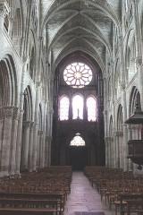Eglise Notre-Dame-en-Vaux et son cloître - English: Châlons-en-Champagne, Collégiale Notre-Dame-en-Vaux, inner view