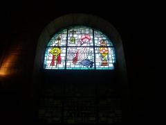 Eglise Saint-Jean - Vitrail de l'église Saint-Jean de Châlons-en-Champagne (Marne, France): saint Jean-Marie Vianney