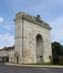 Porte Sainte-Croix - English: Châlons-en-Champagne, the Porte Sainte-Croix