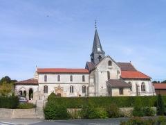 Eglise - Français:   Église Saint-Memmies de Coupéville (Classé)