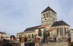 Eglise Saint-Martin - English:   Courtisols, the Saint Martin church