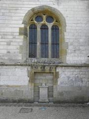 Eglise Saint-Martin - Français:   Église Saint-Martin de Courtisols (51).Façade ouest du collatéral nord.