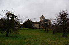 Eglise de Soilly - English: Soilly village.