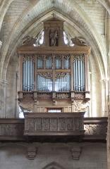 Eglise Notre-Dame - Deutsch:   Orgel in der Basilika Notre-Dame de L\'Épine, Champagne-Ardenne, Frankreich, 2. Hälfte 16. Jh. / 17. Jh.