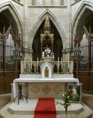 Eglise Notre-Dame - English:   Main altar of Basilica Notre-Dame de l\'Épine, France