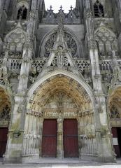 Eglise Notre-Dame - Français:   Portail central de la basilique Notre-Dame de l\'Épine (51).
