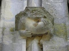 Eglise Notre-Dame - Culot de la basilique Notre-Dame de l'Épine (51).