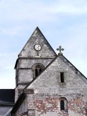 Eglise - Français:   Église Saint-Nicolas-et-Saint-Gérald de Francheville (Inscrit)