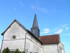 Eglise de Bussy-aux-Bois - This building is indexed in the Base Mérimée, a database of architectural heritage maintained by the French Ministry of Culture,under the reference PA00078714 .